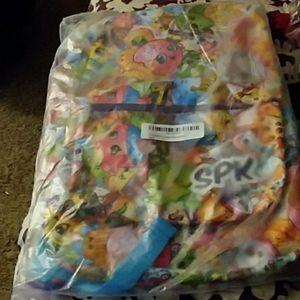 Girls Shopkins Large Backpack.